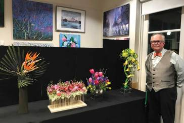 Huzi Speaks at Joint Garden Club Meeting
