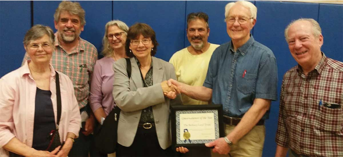 Bethany Land Trust Receives Conservation Organization of the Year Award