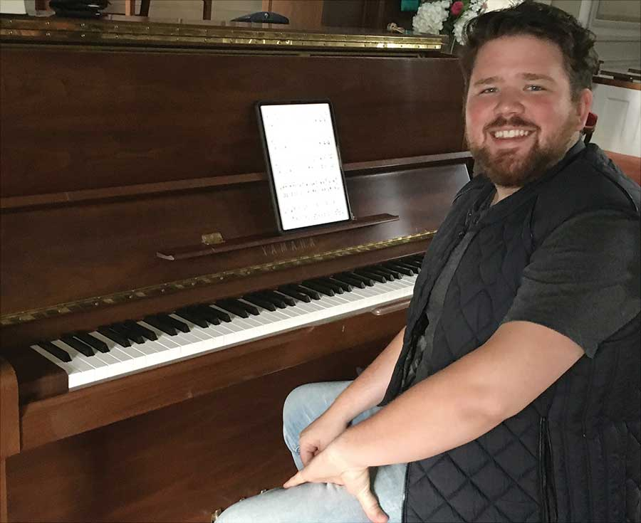 Young Piano Soloist Featured At Local Church