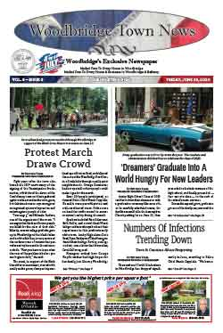 woodbridge town news cover june 26, 2020