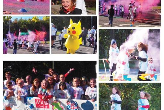 Color Fun Run To Return