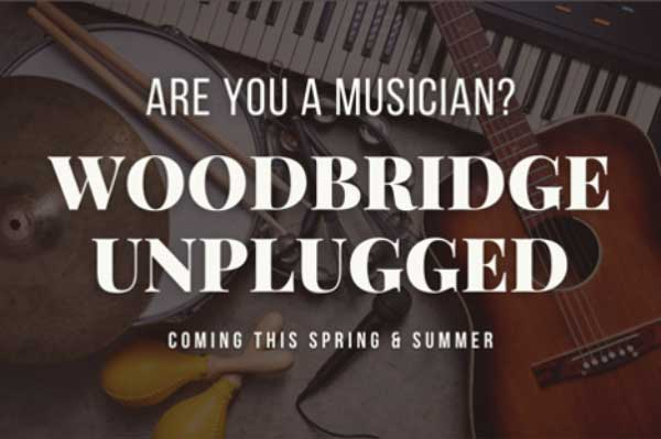 Musicians Sought for Woodbridge Unplugged Series