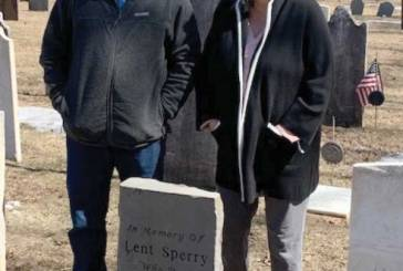 New Stone Commemorates A Forefather
