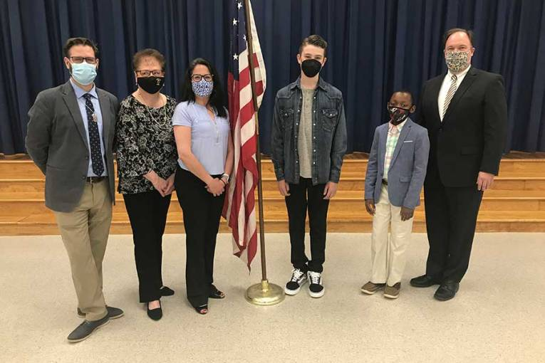 Students Recognized By the South Central Area Superintendents' Association