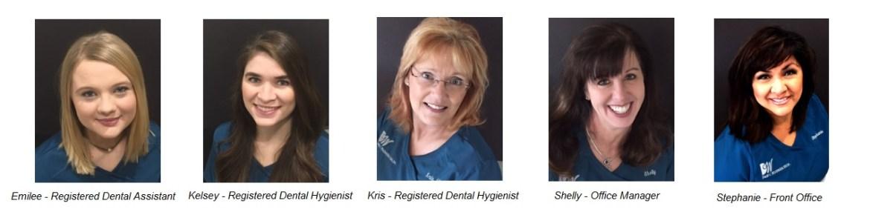 Woodburn Dental Staff Amarillo Texas