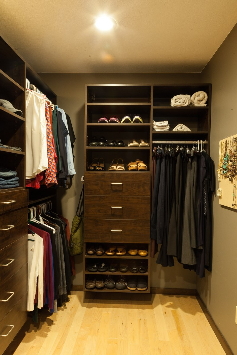 Oakdale Master Bedroom and Closet