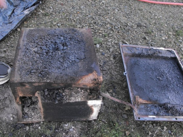 2013-09-30 Harmon Wood stove problems