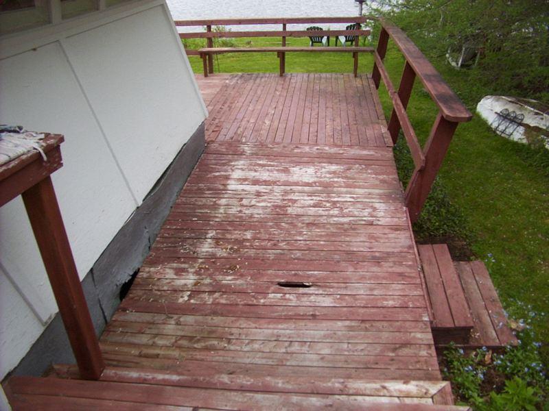 DIY deck rebuild