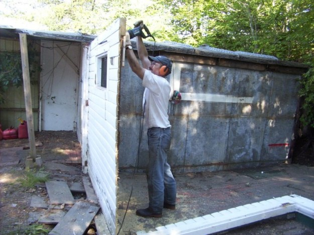 Shed demolition