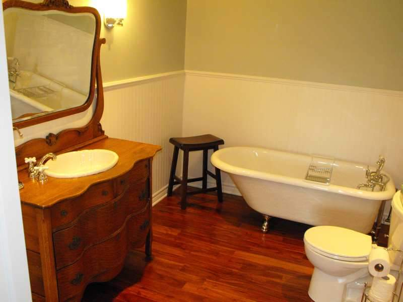 Basement bathroom finished.