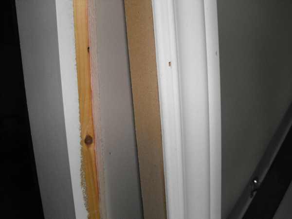 Determining door trim.