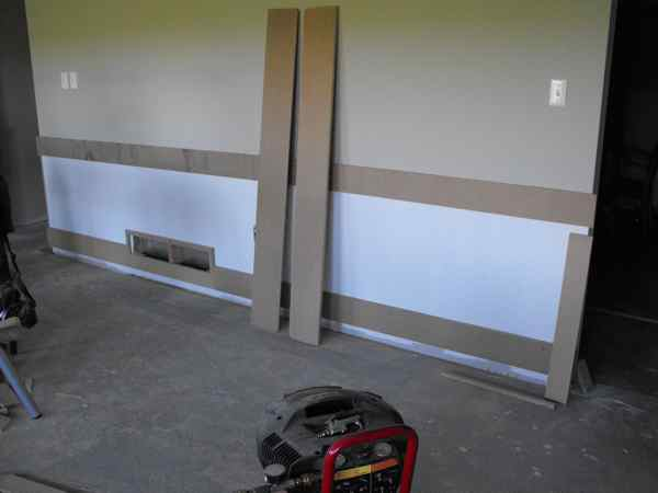 Woodworking and wainscoting.