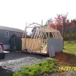 Baby barn finish building.