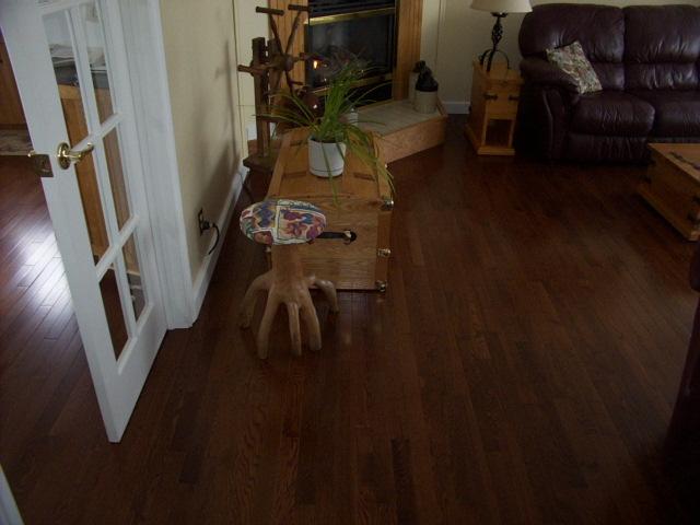 3-1/4 inch hardwood flooring.