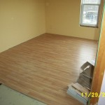 Laminate floor - quick and easy