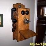 Refinished telephone.