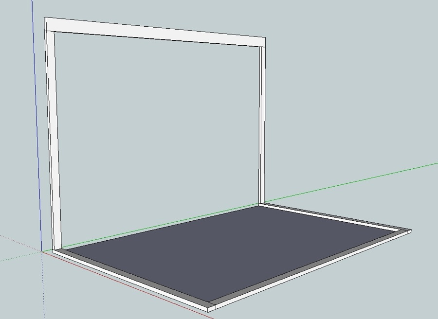 Sunroom Sketchup design 2