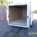 Contractors trailer tool storage