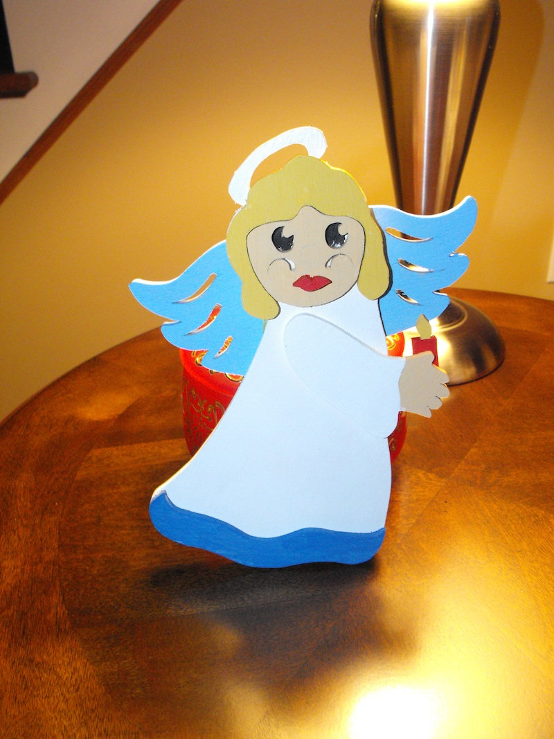 Christmas angels,PDF,downloadable,scroll sawing,woodworking crafts