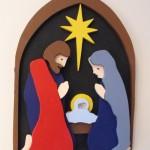 Christmas Nativity 3D Layered Scrollsaw Project