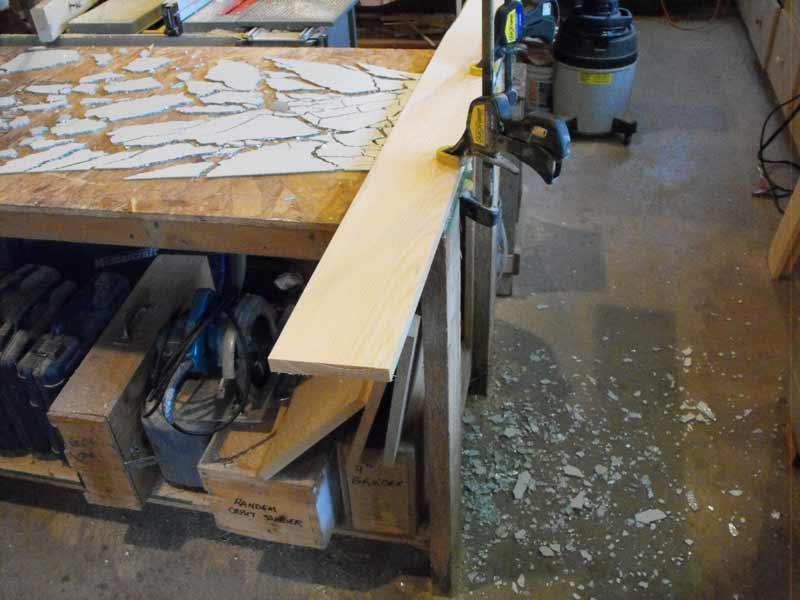 Cutting safety glass,diy