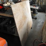 plywood,recycling,diy,atv dump cart