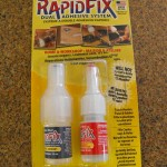 Product Review: RapidFix Adhesive