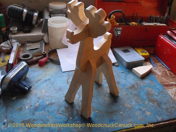 reindeer,tabletop,woodworking,crafts,scrollsaw