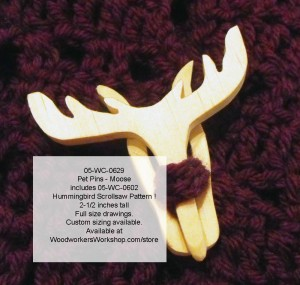 scrollsawing patterns,pdf plans woodworking,moose,wildlife