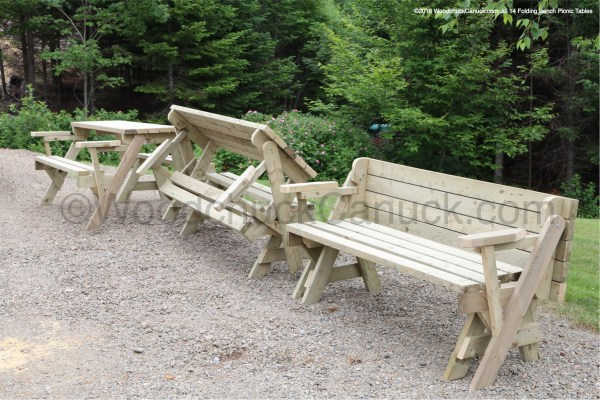 Folding Bench Picnic Tables,outdoor furniture,wood furniture