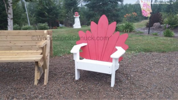 woodworking,outdoor furniture,Maple Leaf chairs