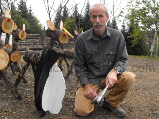3D penguins,plywood,woodworking projects