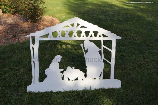 Christmas nativity,plywood,jigsaw,woodworking projects