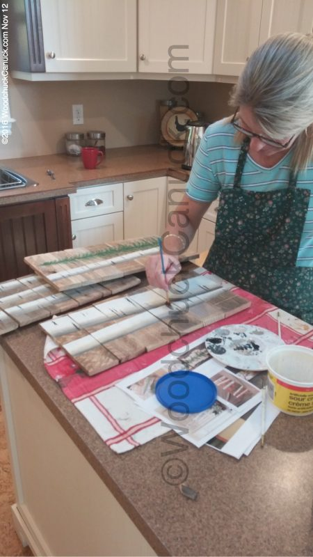 painting,tole painting,crafts,pallet boards,scrap woods