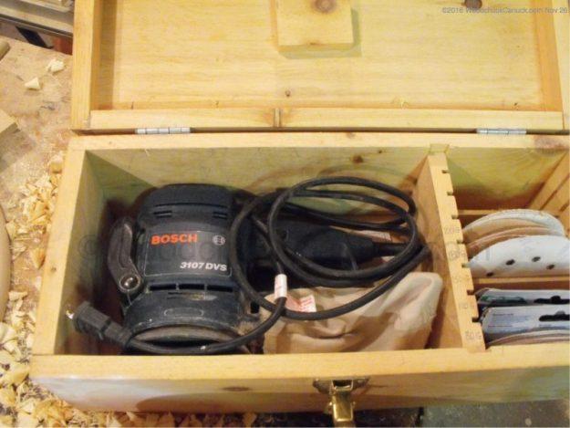 woodworking tools,sanders,tool boxes,sander storage