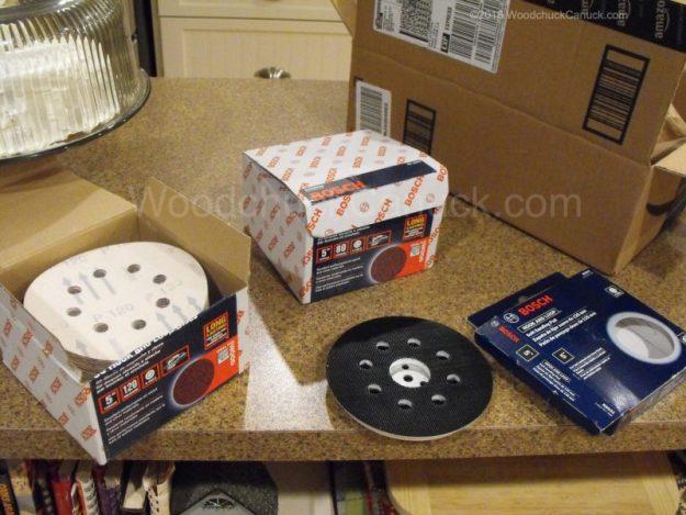 Amazon Prime,sander suppleis,sanding discs,Bosch