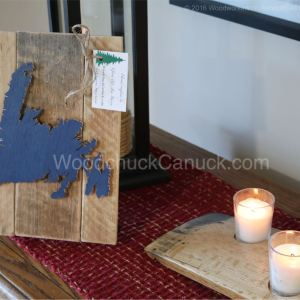 Wood map of Newfoundland,Atlantic provinces,Made in Canada,arts and crafts,scrollsawing,woodworking