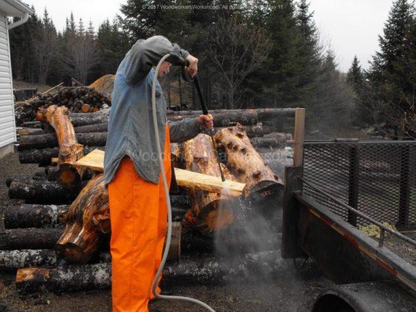 reusing pine boards, wide plank pine