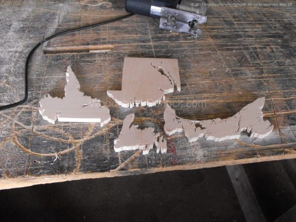 wooden maps,Atlantic provinces,Newfoundland and Labrador,PEI,scrollsaw projects, woodworking
