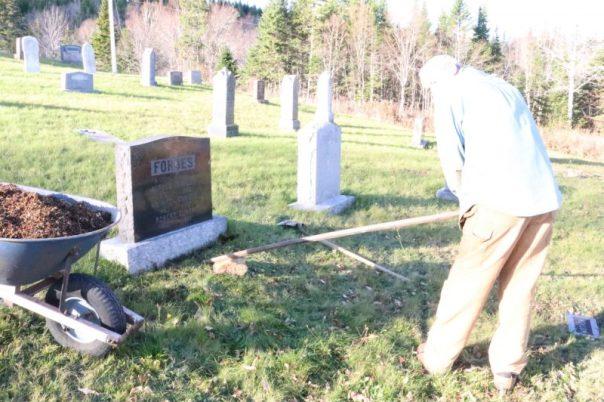 cemetery repairs
