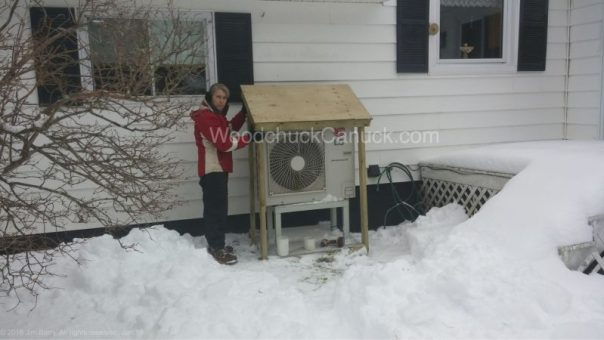 heat pump shelter build