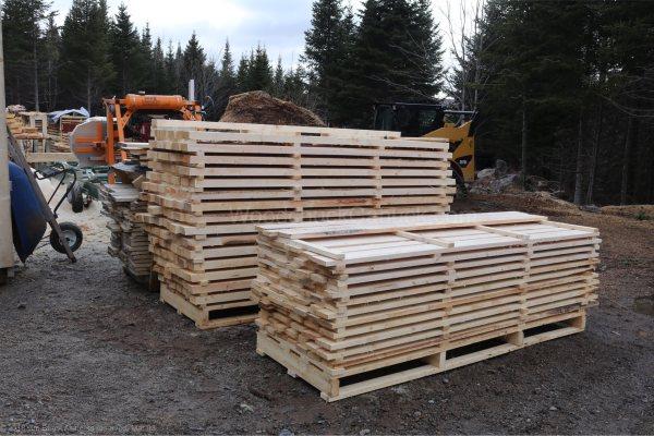 sawmilling,rough sawn lumber,2x4,local sawmills,Antigonish,Loch Katrine,Made in Nova Scotia