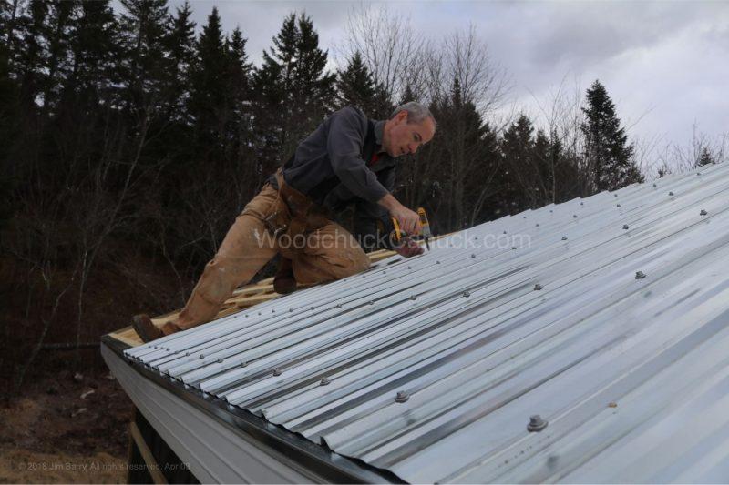 kiln shed,metal roof