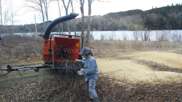 wood chipping,wood chipper,rentals,for hire,Antigonish,Gosehn,Guysborough
