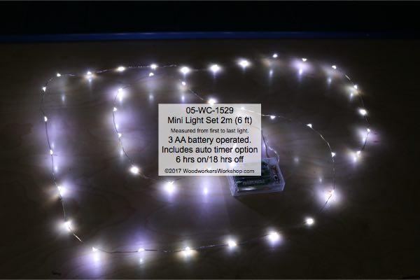 mini lights,fairy lights,string lights,LED Mini Light Set 2 m Cool White with Auto On-Off Timer