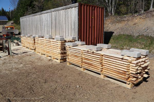 rough sawn lumber, sawmilling, Antigonish, Nova Scotia