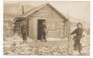 vintage logging photos, olf forestry photographs, women, log cabins