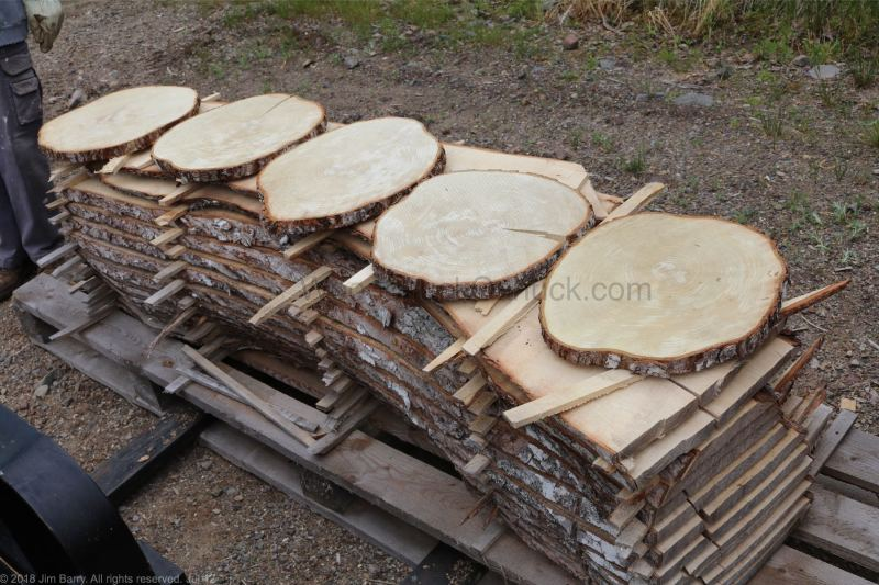 air dried lumber, cookies, sugar maple, Nova Scotia