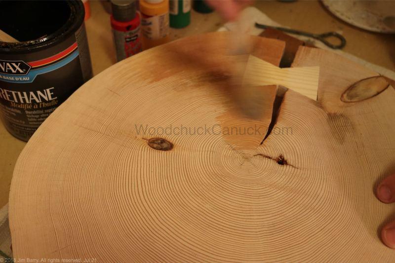 polyurethane,woodworking,end grain