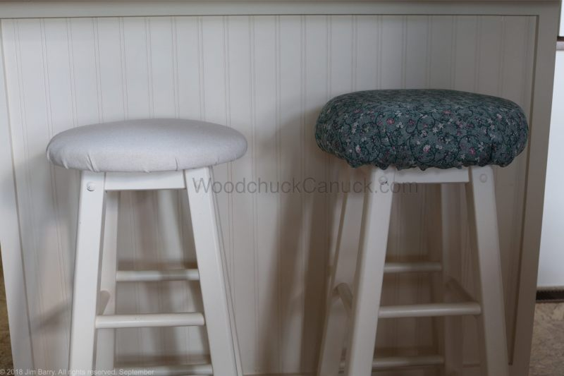 bar stools,upholstery,makeover,diy